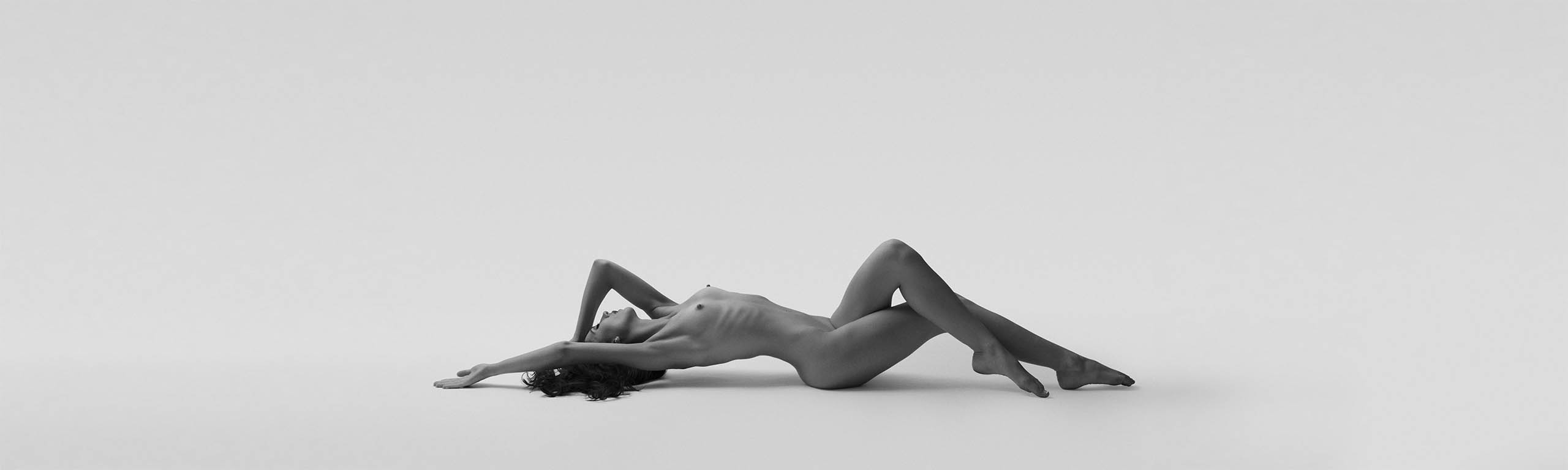 Nude woman art photography